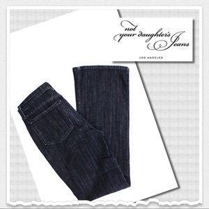 Not Your Daughter's Jeans NYDJ Blue Flare Jeans 4